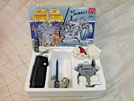 Tomy Battle Sword 02 Battery Power RC Robot Kit Japan Vintage 35 MhZ Toy - $50.13
