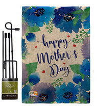 Royal Floral Mother's Day Burlap - Impressions Decorative Metal Garden P... - $33.97