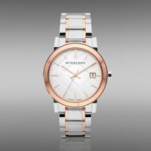 Burberry BU9600 The City Two Tone Swiss Bracelet Watch 38mm - $325.00