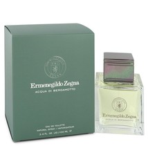 Acqua Di Bergamotto By Ermenegildo Zegna Eau De Toilette Spray 3.4 Oz For Men - $56.53