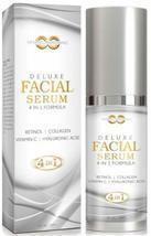 Retinol + Hyaluronic Acid & Vitamin C Anti-Aging Wrinkle GEL-CREAM Serum - $28.09