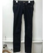 "Women's American Eagle Skinny Stretch Dark Wash Jeans Size 2 Reg Inseam 30"" - $18.95"