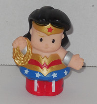 Fisher Price Current Little People Wonder Woman FPLP Rare VHTF - $9.50