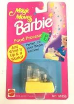 1993 Barbie Magic Moves Food Processor Doll Accessory Brand New NIP RARE... - $14.01