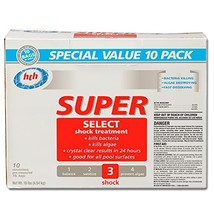 HTH 51437 Super Select Shock Treatment for Swimming Pools 10-Pack - $35.08