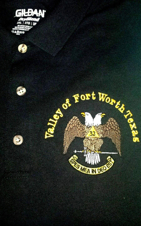 Masonic Polo Shirt Personalized