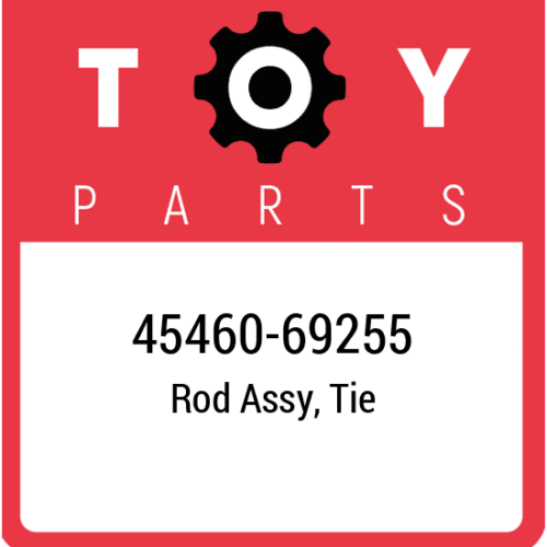 45460-69255 Toyota Rod Set Tie, New Genuine OEM Part