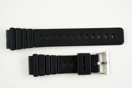 20mm Rubber RESIN watch band STRAP black fits Casio AQ-100 AQ-100WG MRD-201 - $12.95