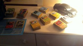 assorted pokemon cards - $19.99