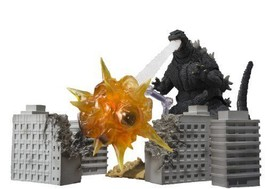 Nouveau S.H.Monsterarts Godzilla Effet Set 2 Bandai Tamashii Nations de Japon - $134.63