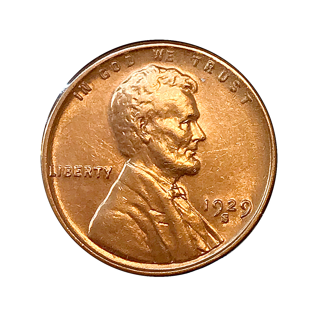 1929 S Lincoln Wheat Cents - Choice BU / MS / UNC