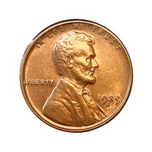 1929 S Lincoln Wheat Cents - Choice BU / MS / UNC image 1