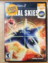 Lethal Skies Ii Game For Playstation 2 PS2, Case,Game Disc, No Manual Included - $2.96