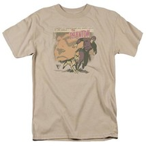 The Phantom t-shirt retro comics Sunday Newspaper strip graphic tee KSF131 image 1