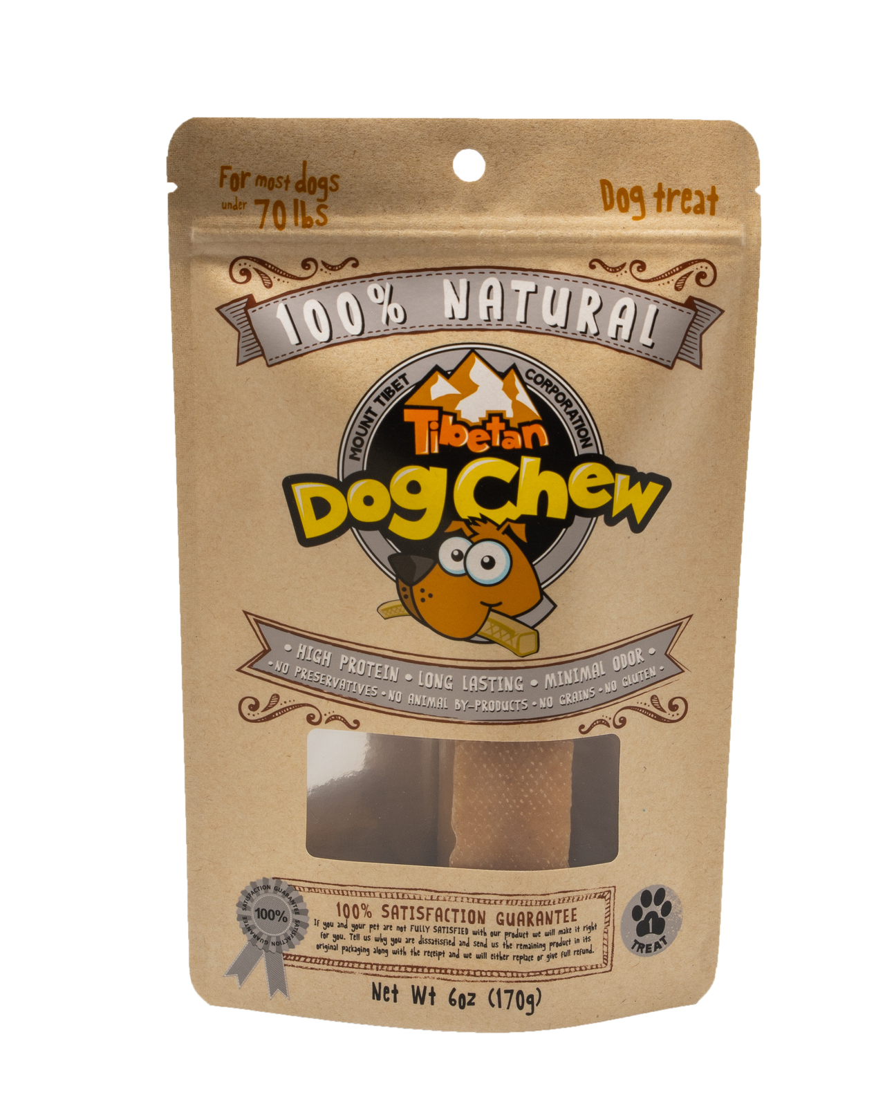 Primary image for Himalayan Cheese Dog Treat, Long Lasting, Hard Cheese Bone, Natural Dental Chew,