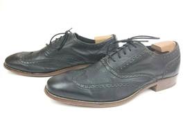 Cole Haan Air Colton Wing Tip Black Oxford Dress Shoes C10028 Men's Size... - $49.95