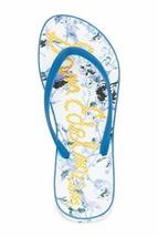 Sam Edelman Evans Thong Sandals, Mid Blue White - $68.99