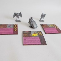 Professor X Archangel Banshee Figure Lot Xmen Alert Game Parts 1992 - $17.81