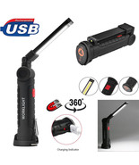 Portable COB 5 Mode Flashlight Torch USB Rechargeable LED Work Light Mag... - $14.80+