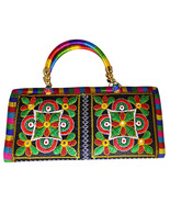 Zonnie Anusha Indian Embroidered Zippered Small Purse - $12.88