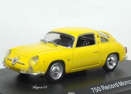Abarth 750 Record Monza (1958) Diecast Model Car DB06 - $31.79
