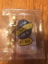 """Ornament Christmas Tree """"It's The Most Wonderful Time To Craft Beer"""" Shi... - $6.91"""