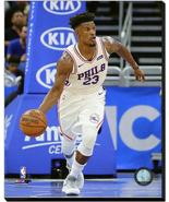Jimmy Butler 2018-19 Philadelphia 76ers #23 - 16x20 Photo on Stretched C... - $94.95