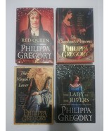 Lot of 4 PHILIPPA GREGORY Hardcover Books Queen Lady Rivers Virgin Princess - $37.61