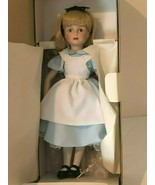 """The Disney Collection Alice in Wonderland Doll With Stand Vintage 13"""" Ne... - $79.99"""