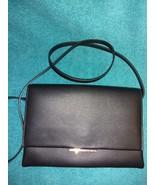 H & M small black faux leather crossbody shoulder bag MINT H&M - $17.00