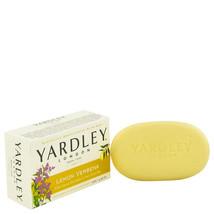 FGX-483411 Yardley London Soaps Lemon Verbena Naturally Moisturizing Bath Bar... - $11.83
