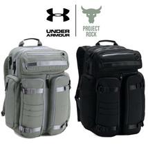 Under Armour Pro Series Project Rock Backpack 1306056 Black Dwayne Johns... - $239.94 CAD