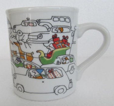 "The Toscany Collection ""Santa driving In Traffic"" Collectible Ceramic Pa... - $14.99"