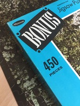 "Vintage 50s Whitman Bonus Interlocking Border Jigsaw Puzzle- #4651 ""Bridge""  image 3"