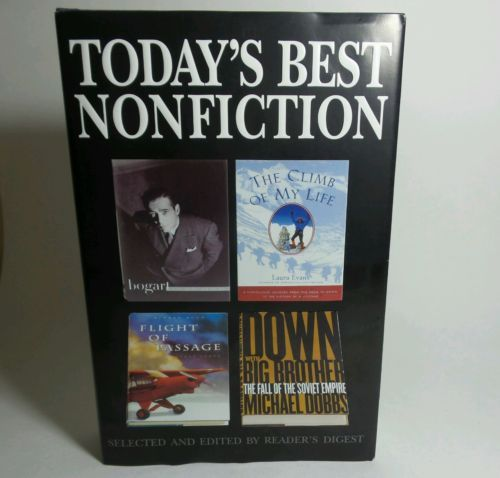 Today's Best Non Fiction- Reader's Digest 4 Books in one.
