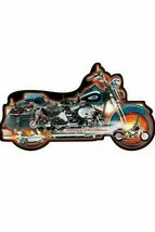 Harley Davidson Motorcycle Die Cut 1000 Piece Jigsaw Puzzle Accelerate *... - $44.55