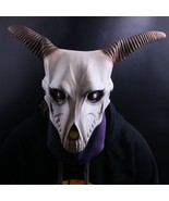 The Ancient Magus' Bride Elias Ainsworth Horn Cosplay Latex Mask Costume Prop - £16.63 GBP