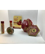 Burt's Bees Pomegranate Lip Balm & Lemon Cuticle Cream & Strawberry Lip ... - $14.95