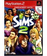 """The Sims 2 - Play Station 2 -  """"Greatest Hits""""  - $10.95"""