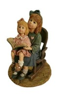 "Yesterdays' Child  Dollstone 2000 Figurine  ""...Quiet Times"" #3565 EUC (UT) - $9.46"