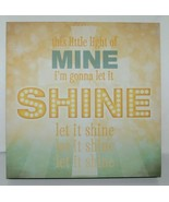 Lyricology 102980 This Little Light of Mine Wall Art 12 Square Inches - $22.99