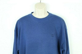 Vintage USA Olympic Mens Crewneck Sweater XL Pullover Navy Blue JC Penny - $9.00