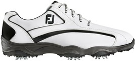 NEW! FootJoy [11.5] Medium White/Black Men's SUPERLITES Golf Shoes 58011 - $128.58