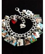 David Bowie Charm Bracelet Beautiful Remembrance  - $25.99