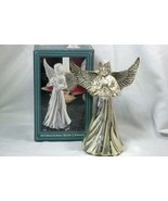 "International Silver 1996 Angel Candle Holder Silver Plate 6"" - $12.59"