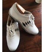 FOOTJOY Womens Golf Shoes - FJ Summer Series Medium White Style 98810 SI... - $35.57