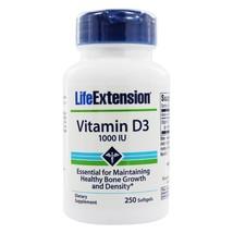 Life Extension Vitamin D3 1000 IU, 250 Softgels - $11.65