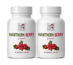 Supplements for lowering Cholesterol - Hawthorn Berry Extract 665MG - Ke... - $29.35
