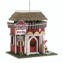 #10018081 *Golf Club Wood Bird House* - £17.98 GBP