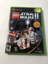 LEGO STAR WARS II ORIGINAL TRILOGY XBOX-DISC ONLY-TESTED -  FREE SHIPPING. - $4.99